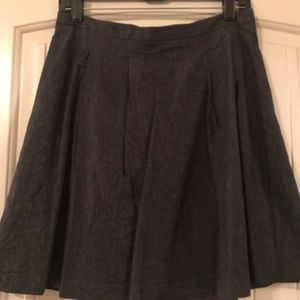 Limited Gray Flare Skirt, Work